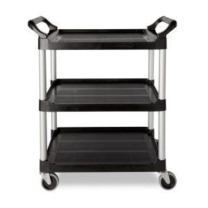 3-Shelf Rolling Service rack