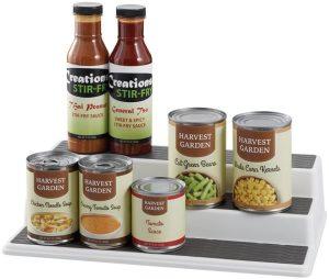 Non-Skid 3-Tier kitchen Cabinet Organizer