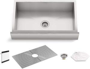 Kohler Single-Bowl Farmhouse Kitchen Sink