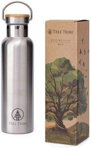 Tree Tribe Stainless Steel Water Bottle